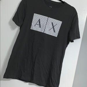 Armani Exchange Gray Shirt